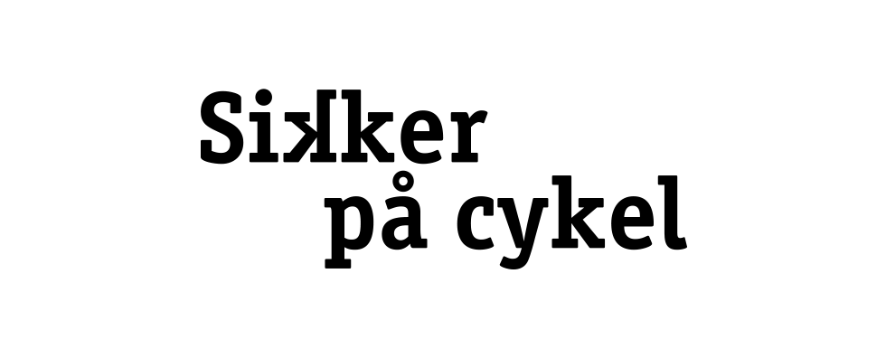 sikker paa cykel logo